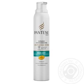 Бальзам-ополаскиватель Pantene Pro-V Aqua Light Воздушная пенка для тонких и склонных к жирности волос 180мл