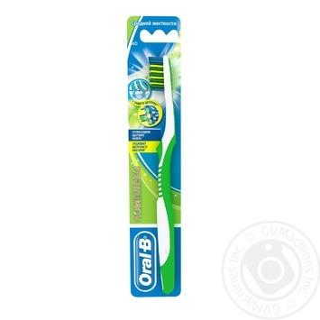 Зубная щетка Oral-B Комплекс Глубокая чистка Антибактериальная средняя