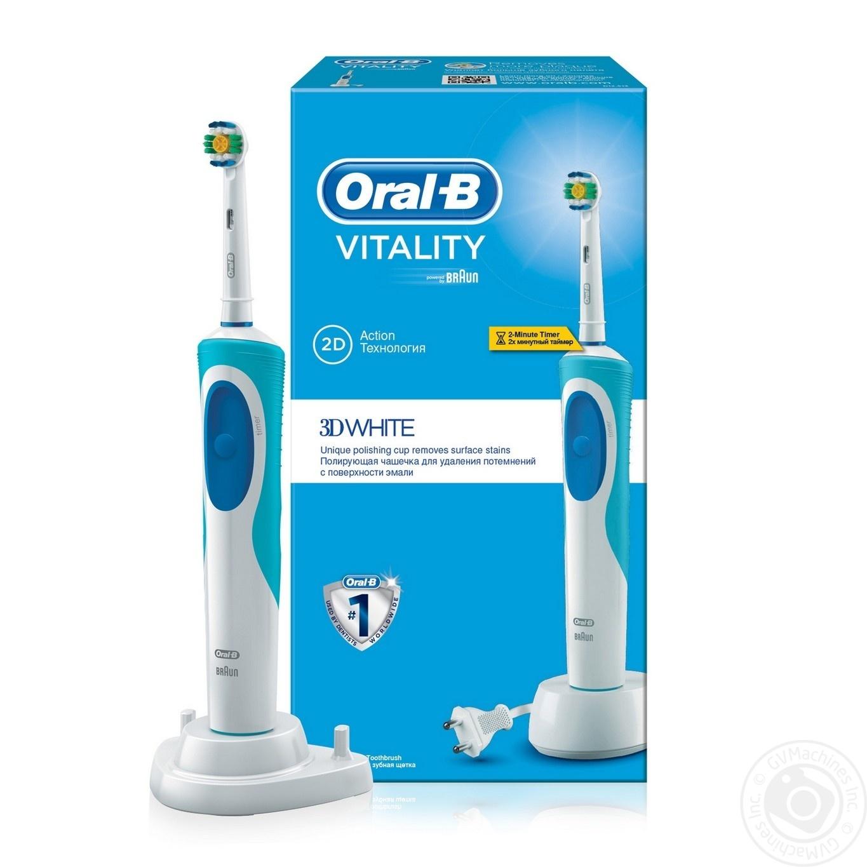 Електрична зубна щітка Oral-B Vitality 3D White Відбілююча ... 4cc90c53fe16c