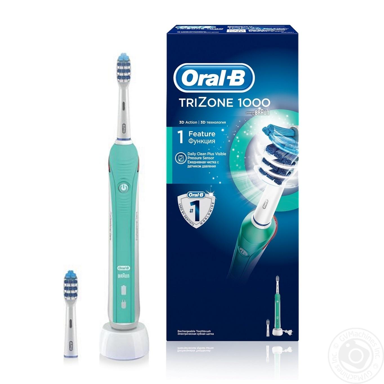 Електрична зубна щітка Oral-B TriZone 1000 → Гігієна → Особиста ... 1c4278a0cf15d