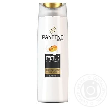 Pantene Shampoo pro vi thick and strong 400 ml - buy, prices for Auchan - image 1
