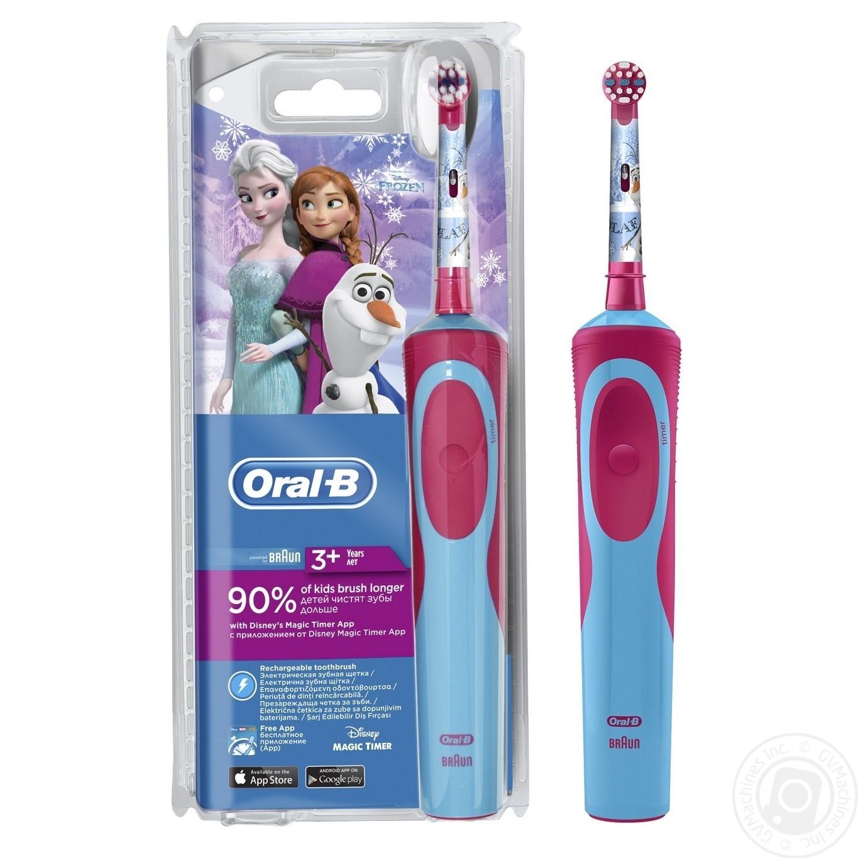 Електрична зубна щітка Oral-B Frozen дитяча → Гігієна → Особиста ... 91fdc600c0a0d