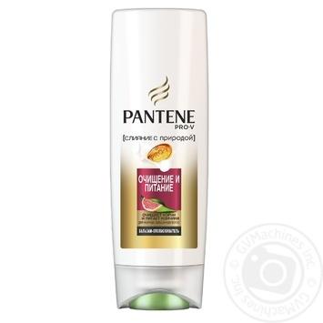 Бальзам-ополаскиватель для волос Pantene Слияние с природой Очищение и Питание 200мл - купить, цены на Novus - фото 3