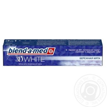 Toothpaste Blend-a-Med 3D White Medic Delicate 100ml
