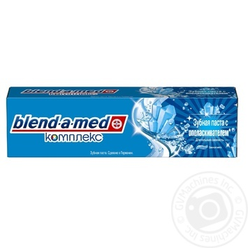 Toothpaste Blend-a-Med Complete 7 Extra Fresh 100ml - buy, prices for Novus - image 3