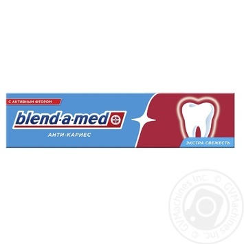 Blend-A-Med Anti-Karies Fresh Toothpaste 100ml - buy, prices for MegaMarket - image 1