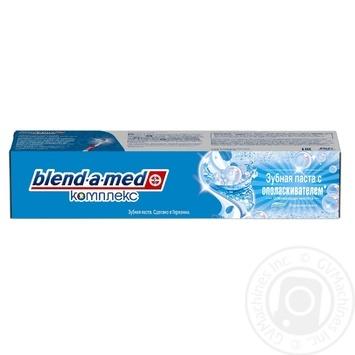 Зубная паста Blend-a-med Комплекс 7 с ополаскивателем 100мл