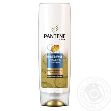 Бальзам-ополіскувач Pantene Pro-V Міцелярне очищення та живлення для жирного волосся 360мл