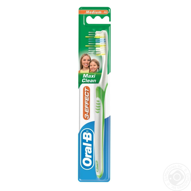 Зубна щітка Oral-B Maxi Clean середня → Гігієна → Особиста гігієна ... 77aa08f7dbaab
