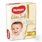 Підгузки Huggies Elite Soft 4 8-14кг 19шт
