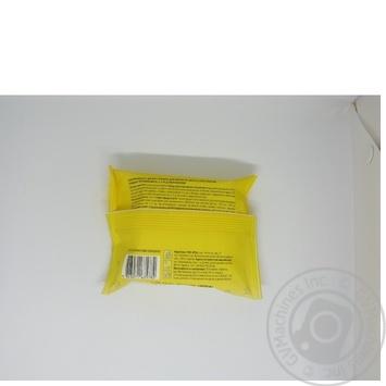 Серветки вологі Дитячі ромашка з вітамінами А,С,Е та Д-пантенолом Novus24 шт - купить, цены на Novus - фото 2