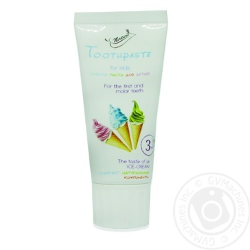 Toothpaste for children 50ml - buy, prices for Novus - image 1