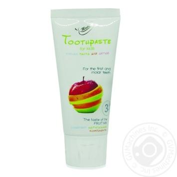 Зубна паста для дітей Fruit mix Bioton 50мл