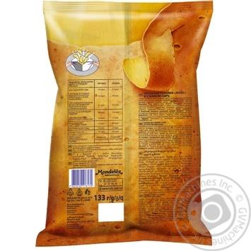 Чипсы Люкс со вкусом сыра 133г - купить, цены на Ашан - фото 2