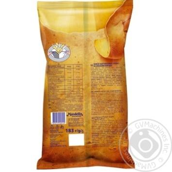 Чипсы Люкс со вкусом бекона 183г - купить, цены на Novus - фото 2