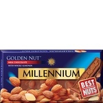 Chocolate milky Millenium with almonds bars 32% 90g