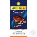Chocolate milky Millenium bars 35% 100g