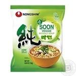 Суп с лапшой Nongshim веганский 112г