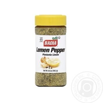 Приправа Badia лимон перец 184,3г