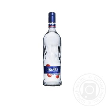 Водка Финляндия Клюква белая 37.5% 1л