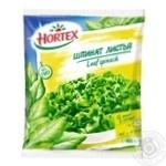 Шпинат Hortex листовой замороженный 400г