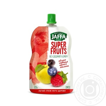 Jaffa Super Fruits Apple-Blueberry-Aronia-Raspberry smoothie 120g - buy, prices for Auchan - image 1