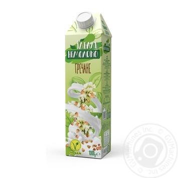 Напиток Идеаль Немолоко гречневый ультрапастеризованный 2,5% 1000г - купить, цены на Novus - фото 1
