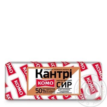 Сыр Комо Кантри брус 50% - купить, цены на МегаМаркет - фото 1