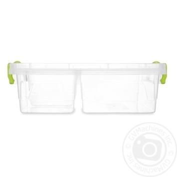 Контейнер харчовий Ал-Пластик Twin універсальний 1.03л - купити, ціни на ЕКО Маркет - фото 1