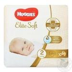 Подгузники Huggies Elite Soft 2 4-6кг 25шт