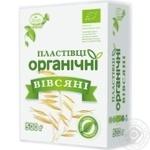 Kozub Product Organic Sliced Oat Flakes
