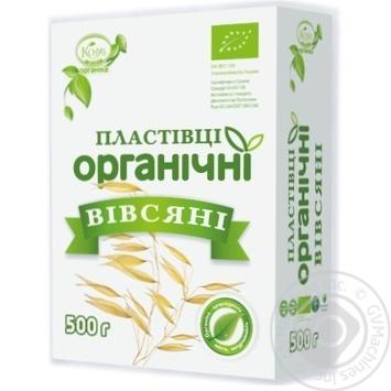 Kozub Organic Oat Flakes 500g - buy, prices for MegaMarket - image 1