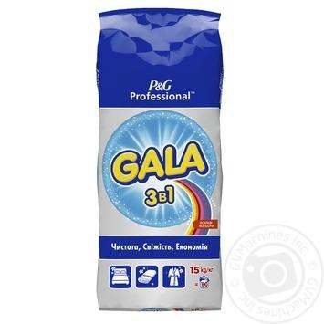 Стиральный порошок Gala Expert Color автомат для цветного белья 15кг - купить, цены на Метро - фото 1