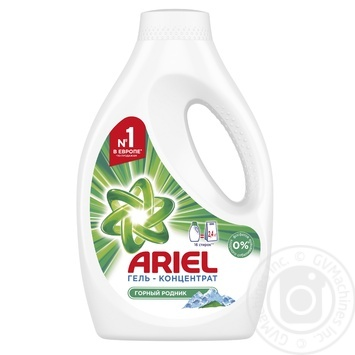Ariel Mountain Spring Liquid Laundry Detergent 1,04l