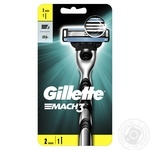 Gillette Mach3 with 2 replaceable cartridges