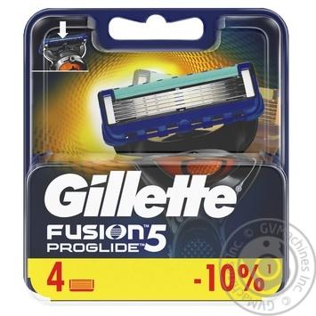 Сменные картриджи для бритья Gillette Fusion5 ProGlide 4шт