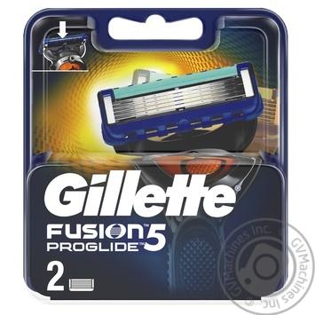 Men's Razor Blade Refills бритья Gillette Fusion ProGlide 2count
