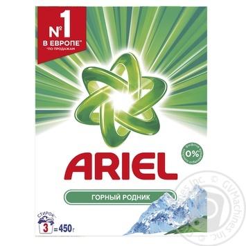 Ariel Mountain Spring Laundry Detergent Powder 450g