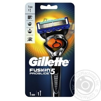 Gillette Fusion5 ProGlide Flexball razor with 1 replaceable cartridge - buy, prices for Novus - image 1