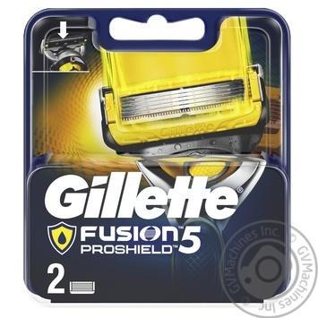 Картриджи для бритья Gillette Fusion5 ProShield сменные 2шт
