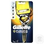 Бритва Gillette Fusion5 ProShield Chill чоловіча з технологією FlexBall + 1 змінна касета
