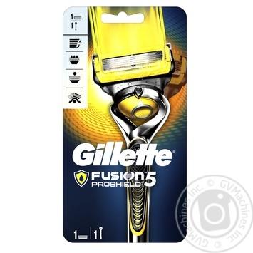 Бритва Gillette Fusion5 ProShield Chill мужская с технологией FlexBall с 1 сменной касетой