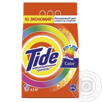 Пральний порошок Tide Color автомат 4,5кг