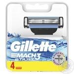Картриджи для бритья Gillette Mach3 Start сменные 4шт