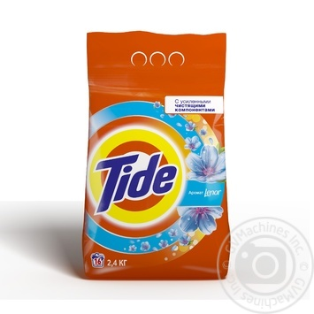 Tide Lenor Touch of Scent Laundry Detergent Powder 2,4kg