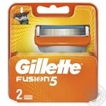 Gillette Fusion5 replacement shaving cartridges 2pcs