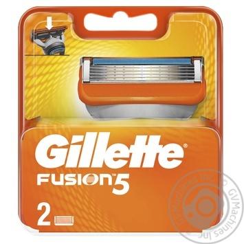 Картриджі для гоління Gillette Fusion змінні 2шт - купити, ціни на ЕКО Маркет - фото 4