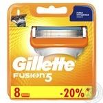 Змінні картриджи для гоління Gillette Fusion 8шт