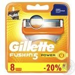Сменные картриджи для бритья Gillette Fusion5 Power 8шт