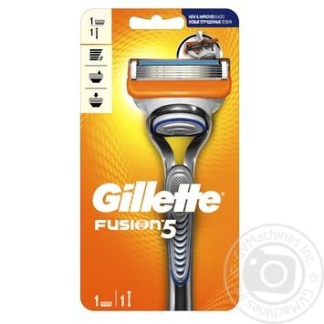Бритва Gillette Fusion5 з 1 змінним картриджем